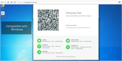 Falsificaciones WhatsApp Web