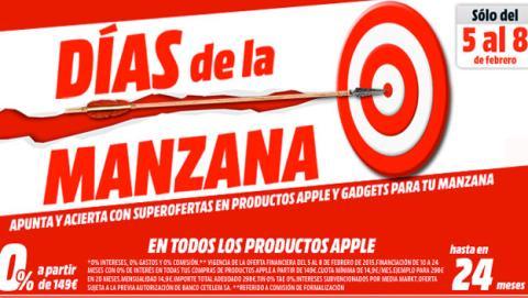 Media Markt lanza 'Días de la Manzana' para productos Apple