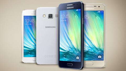 Samsung Galaxy A5 y A3 Orange