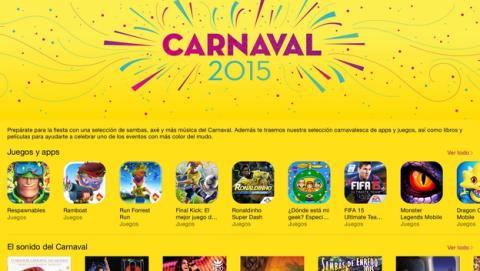 El Carnaval 2015 llega a la App Store de Apple.