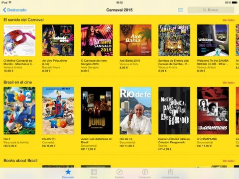 App Store Carnaval 2015