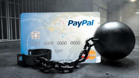 ¿Tienes tarjeta PayPal en España? tu dinero queda retenido
