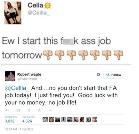 despedida vía Twitter
