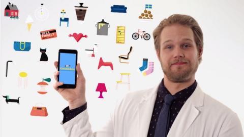 IKEA lanza una apps de emoticonos para las parejas.