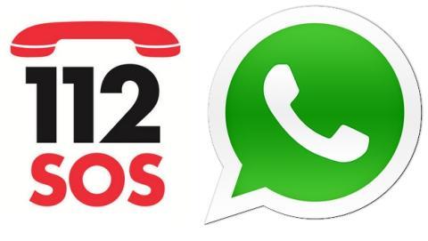 Mensaje de WhatsApp avisa de falso teléfono de emergencias.