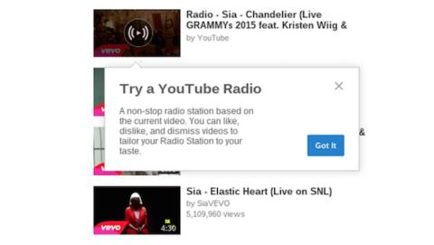 YouTube podría lanzar una radio personalizada