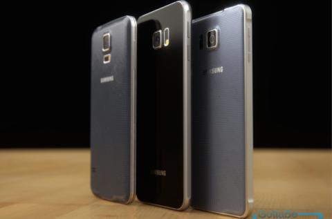 Samsung S6 perfil