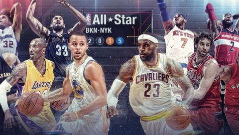Dónde ver online el All-Star 2015 de la NBA con Marc y Pau Gasol.