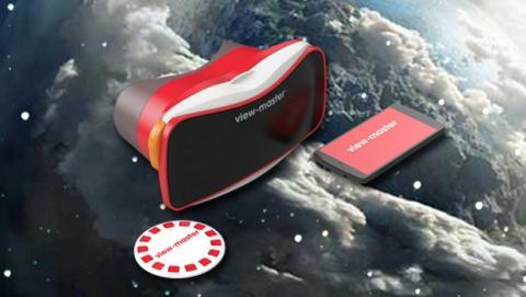 View-Master, las gafas virtuales para niños de Google y Mattel, como unas Google Cardboard pero de plástico.