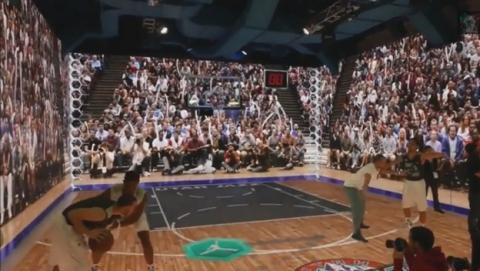 Realidad virtual sin gafas te convierte en Michael Jordan.
