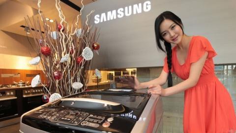 Ejecutivos de LG acusados de destrozar lavadora de Samsung en IFA 2014, se defienden presentando el vídeo de seguridad.