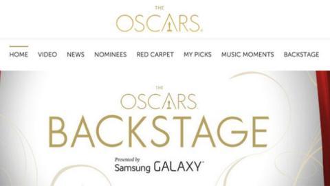 Web oficial Oscar 2015