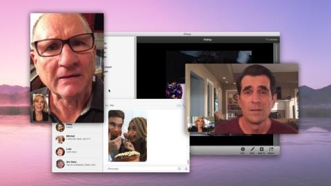 Un episodio de Modern Family, rodado con un iPhone y un iPad, y visionado por completo en un Macbook Pro.