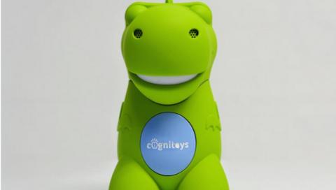 Dino de CogniToys, juguete con IA conectado a IBM Watson