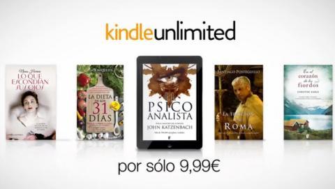 Kindle Unlimited es declarado ilegal en Francia.