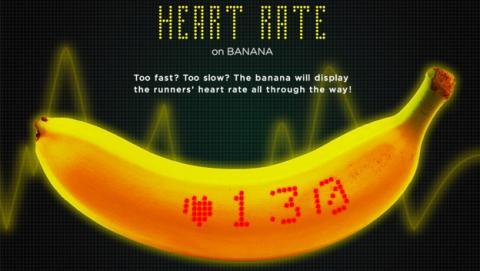 Dole primer wearable comestible plátano inteligente