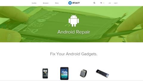 iFixit publica 250 guías para reparar tu smartphone Android.