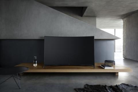 Panasonic 65CR850, nuevos televisores curvos Smart TV 4K de Panasonic
