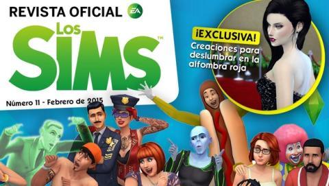 Revista oficial de los Sims Número 11 incluye un vestido exclusivo para la gran fiesta del cine.