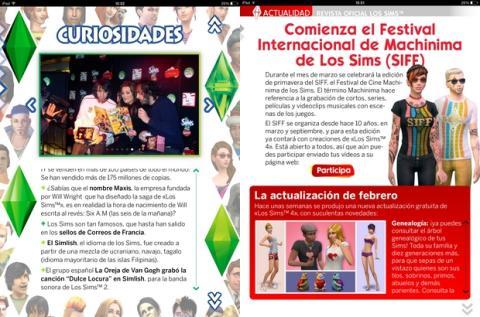 Revista Oficial Los Sims 11