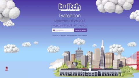 TwitchCon 2015, se anuncia la primera convención de Twitch.