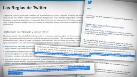 Facua contra las reglas de Twitter