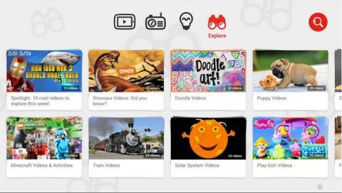 YouTube Kids, Google estrena su app para niños con un vídeo.