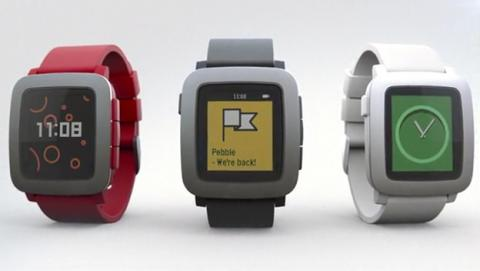 Pebble time reloj inteligente barato