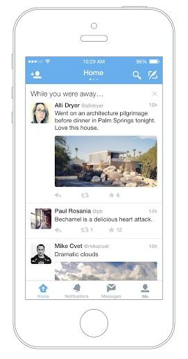 Nueva función de Twitter para iOS