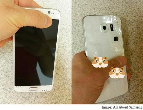 foto filtrada del Samsugn Galaxy S6