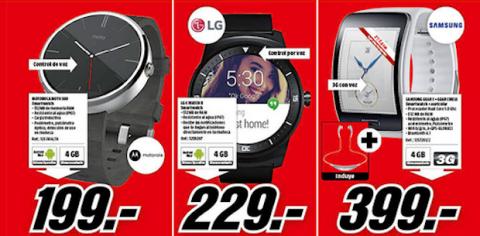 smartwatch media markt