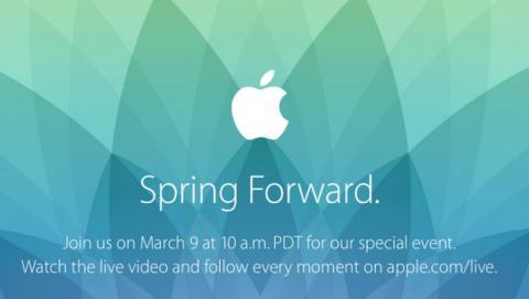 Apple Watch se estrenará en un evento oficial el 9 de marzo.