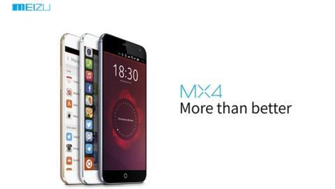 Meizu MX4 con Ubuntu develado, a tiempo para el MWC 2015.