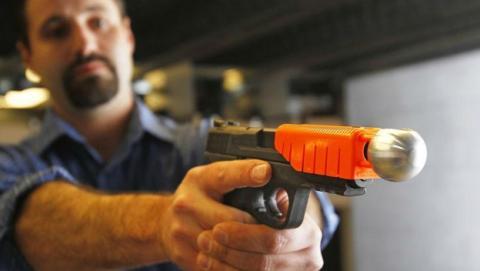 pistola que no mata