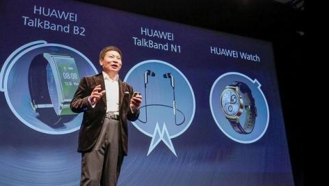 Presentación Huawei Watch, Talkband B2 y N1 en el MWC 2015.