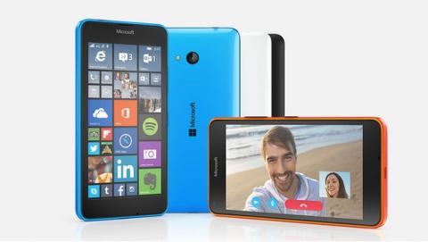 Microsoft Lumia 640 y Lumia 640 XL en el MWC 2015.
