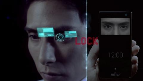 Smartphone con lector de iris, lo nuevo de Fujitsu.
