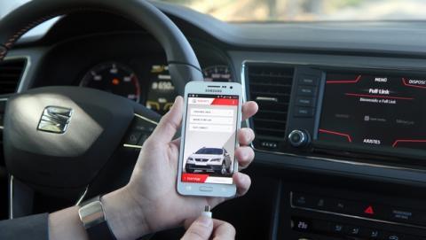 Samsung y SEAT se alían para lanzar coches conectados.
