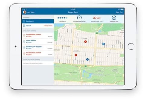 Field Connect permite mejorar la capacidad de respuesta en las reparaciones