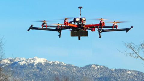 Drones que crear red telefónica