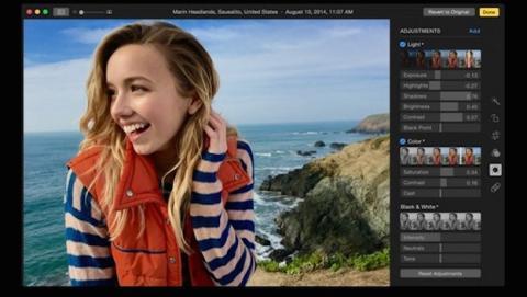 Vistazo de nueva app de Fotos