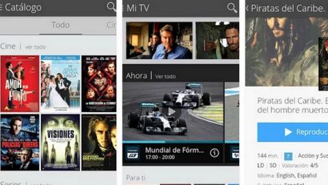 Cortana buscará series y películas para tí en Movistar TV Go de Windows Phone 8.