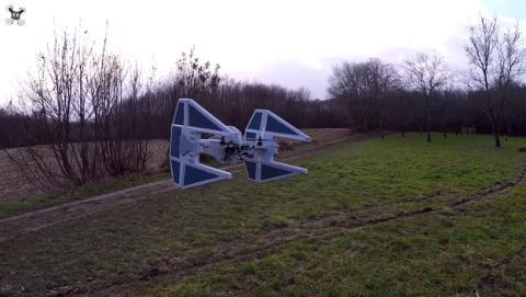 Un drone Tie Fighter digno de Darth Vader. ¡Hazlo tu mismo!