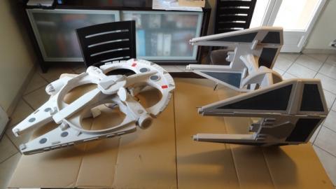 Drone Tie Fighter