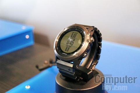 Garmin Fenix 3. El smartwatch con pantalla a color y GPS integrado.