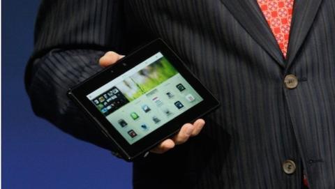 BlackBerry podría lanzar otra tablet