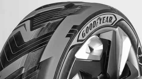 Goodyear reinventa la rueda: Energía ilimitada para coches