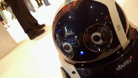 Qbo en el MWC 2015. Un robot con Ubuntu y conciencia propia