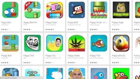 Las 100 apps más usadas de iOS y Android tienen clones malware.