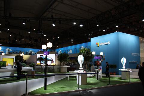 Stand de Microsoft
